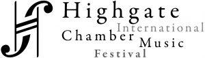 Logo designed by Alexandre Szames for the Highgate International Chamber Music Festival (HICMF)