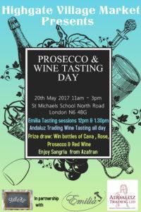 Prosecco & Wine Tasting at the Village Market @ St Michael's School