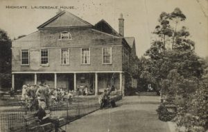Highgate Heritage Weekend @ Lauderdale House