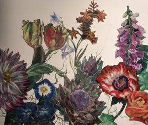 A Botanical Mixed Media Art Workshop: @ North London Bowling Club | England | United Kingdom