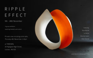 Private view & Artist talks: Ripple Effect @ Thrown