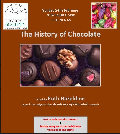The History of Chocolate @ Highgate Society
