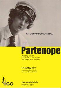 Handel's 'Partenope' - an opera not-so-seria @ Jacksons Lane Theatre