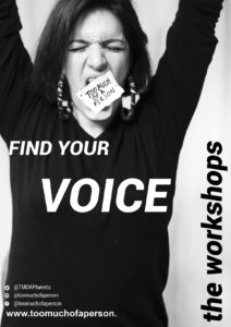 Too Much of a Person - Find Your Voice (Workshop @ OmVed Gardens