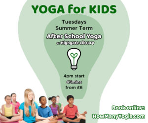Yoga for Kids - How Many Yogis @ Highgate Library