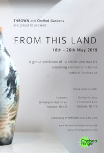 'From This Land' at THROWN and OmVed Gardens @ Thrown & OmVed Gardens