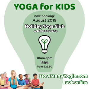 Summer Camp - Yoga for Kids @ Jacksons Lane