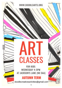 Art Classes for Kids - Doodle Arts @ Jackson's Lane
