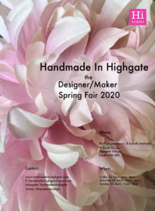 Handmade In Highgate, The Summer Fair 2020 @ The Highgate Literary & Scientific Instition
